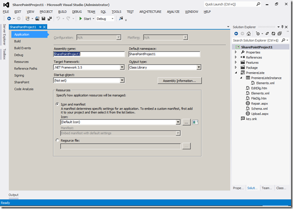 Visual Studio 2012 - Solution 1