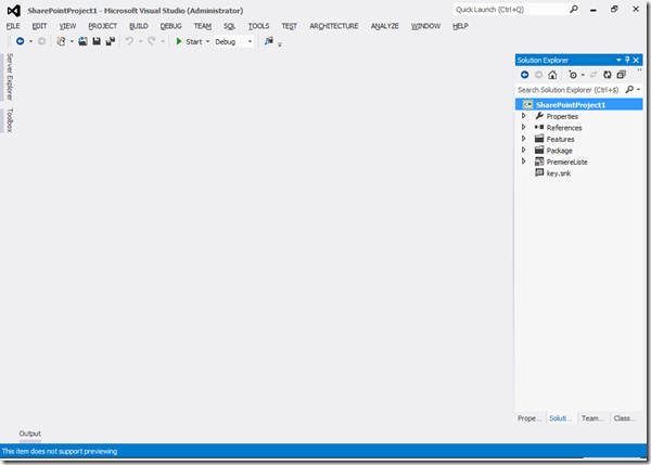 Visual Studio 2012 - Début